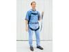 WEB LANYARD WITH SAFETY HARNESS
